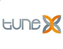 Logo for blockchain fintech software company