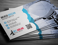 Air Agency Business Card