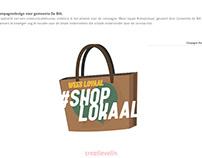 Artwork Campagne #weesloyaalshoplokaal
