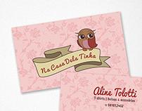 Cartão de visitas e logos