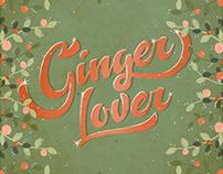 Ginger Lover // Illustration + Lettering