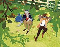 《柳林风声 》插图项目