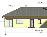 Private housing: Revit project
