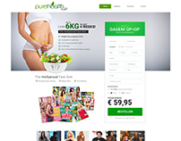 Pure Health Lead generation Landing page