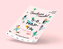Sandarina market 2016 | graphic design
