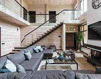 Modern Cottage by Noviy Dom