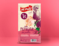 packaging pollo