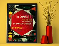"""Poster """"IN DANCE WE TRUST"""""""