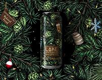 Holiday 2020 Packaging: Lake Arrowhead Brewing