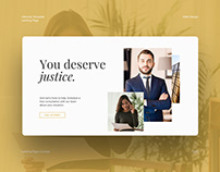 Attorney Landing Page