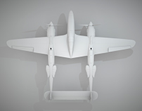 Lockheed P-38 Lightning (Clay)