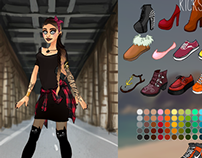 Urban Chic Dress Up Game - Dolldivine.com