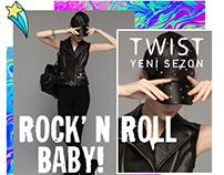 Twist-Rock&Roll Landing Page&Newsletter