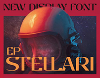 EP Stellari - Free Futuristic Display Font