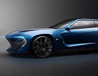 Opel Manta / Digital Design