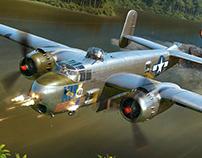B-25H - Hong Kong Models boxart