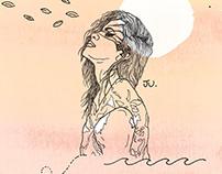 JU. | encarte novo álbum