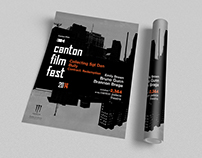 Canton Film Fest Branding and Collateral