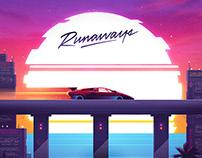WOLFCLUB: Runaways album art