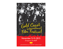 Gold Coast International Film Festival poster
