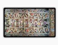 Michelangelo in the Sistine Chapel