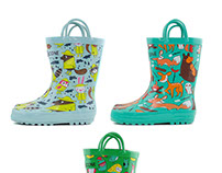 Surface Patterns for Lone Cone Children's Boots