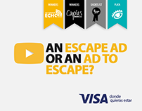 AN ESCAPE AD OR AN AD TO ESCAPE?