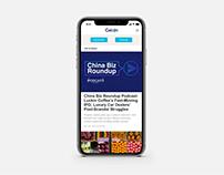 CAIXIN Global Websites Upgrade