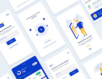 Fintech App Concept Rebranding & UI/UX Kit-Unofficial.