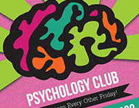 Psychology Club Posters