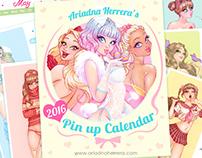 2016 Pin up Calendar