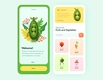 Veggie Shop App
