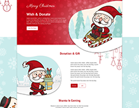 Chrysto | Merry Christmas Exclusive | Landing Page
