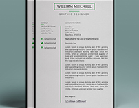 Minimal resume and cover latter (FREEBIE)