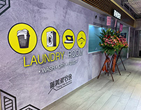 Branding and Shop Decoration for Tsing Mei Laundry Room