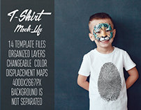 Kids T-Shirt Mock-Up Vol.10 2017