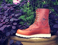 Custom Red Wing Boots, All seeing eye
