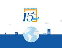 AtoZ Infoway -15th Anniversary Designs
