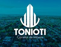 Tonioti - Corretor de Imóveis | BRANDING