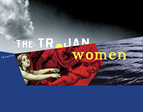 Clarence Brown Theater Poster for Trojan Women