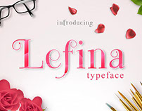 Free Font of the Week - Lefina