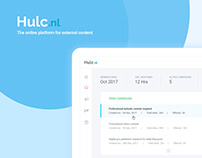 UX Design for Hulc Web App