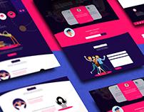 Psynap Center - UI/UX Design