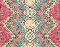 Pattern hecho a partir de ilustración
