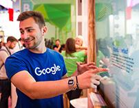Google Account - Interactive Wall