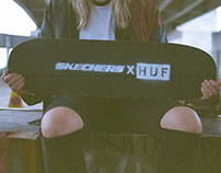SKECHERSXHUF: Lookbook & Web Design