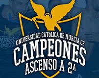 Camiseta Ascenso UCAM CF |  LaLiga 123 | 2016