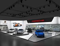 Porsche booth
