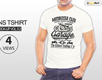 Mens Tshirt Mockup vol 3.2