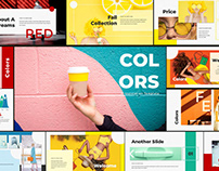 Free Colors Powerpoint Template